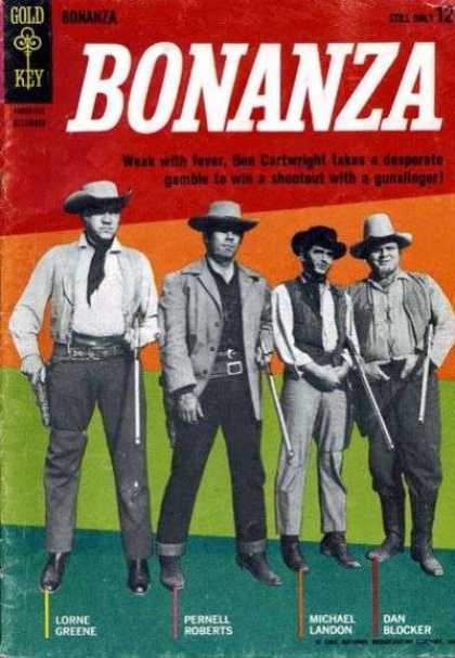 Bonanza 5 - Cowboys - Rifles - Gun Holsters - Ben Cartwright - Hoss