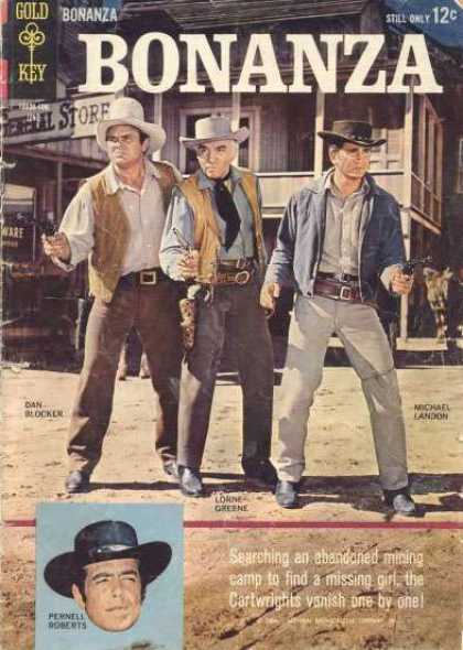 Bonanza 8 - Cowboys - Hats - Guns - Western - Old Wets