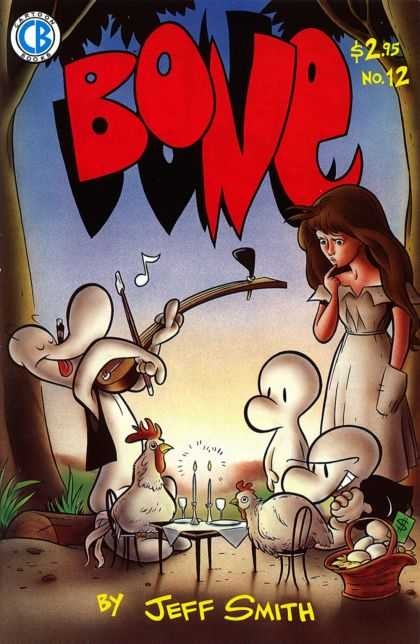Bone 12 - Cartoon Books - Bone - Chicken - Candle - Music - Jeff Smith