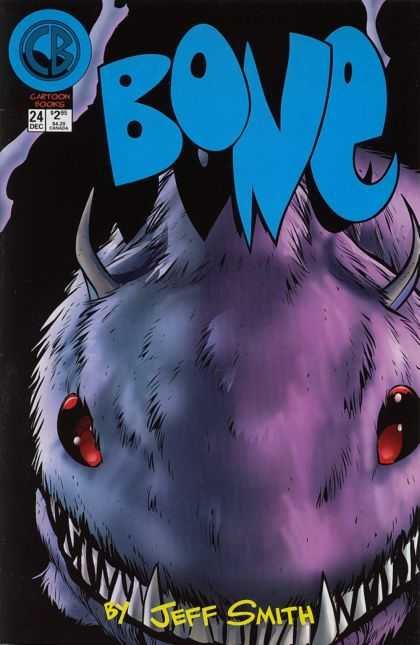 Bone 24 - Mutant - Furry Worm - Sharp Teeth - Hell Eyes - Eater - Jeff Smith