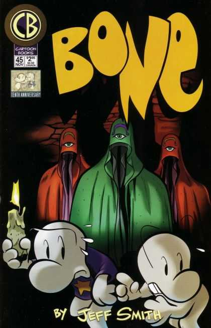 Bone 45 - By Jeff Smith - Cartoon Books - Candle - Light - One Eye - Jeff Smith
