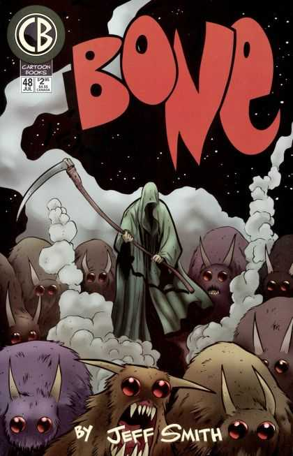 Bone 48 - Witch - Sword - Night - Monster - Horn - Jeff Smith