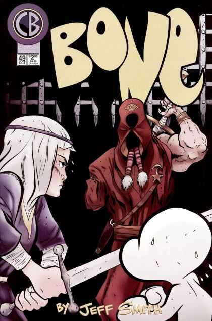 Bone 49 - Sword - Ninja - Bone - October - Sweat - Jeff Smith