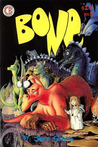 Bone 8 - A Child Among Monsters - Monter Tales - Children And Dragons - Ferocious Beasts - The Angel And Her Beasts - Jeff Smith