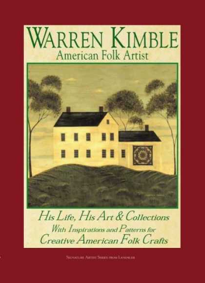 Books About Art - Warren Kimble American Folk Artist: His Life His Art and Collections With Inspir