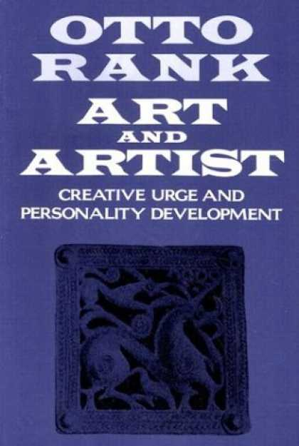 Books About Art - Art and Artist: Creative Urge and Personality Development ((1989))