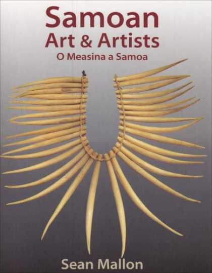 Books About Art - Samoan Art and Artists: O Measina a Samoa