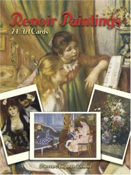 Books About Art - Renoir Paintings: 24 Art Cards (Card Books)