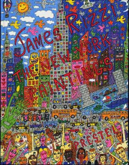 Books About Art - James Rizzi: The New York Paintings (Art & Design)
