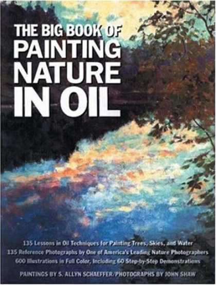 Books About Art - The Big Book of Painting Nature in Oil