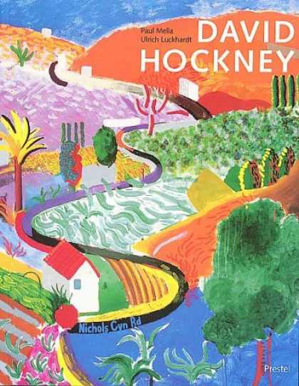 Books About Art - David Hockney: Paintings (Art & Design)