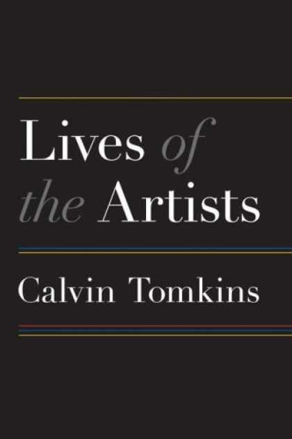 Books About Art - Lives of the Artists