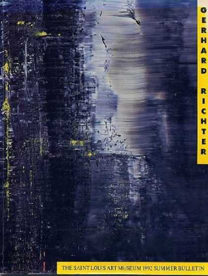 Books About Art - Gerhard Richter. Paintings, Prints and Photographs in the Collections of the St.