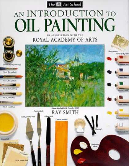 Books About Art - An Introduction to Oil Painting (DK Art School)