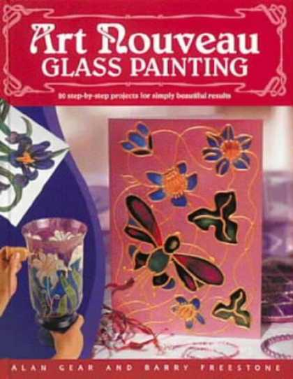 Books About Art - Art Nouveau Glass Painting Made Easy