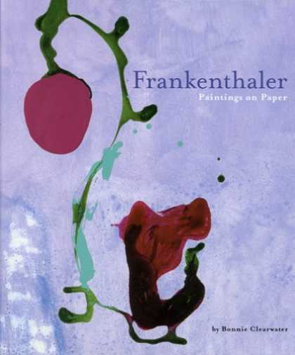 Books About Art - Frankenthaler Paintings on Paper