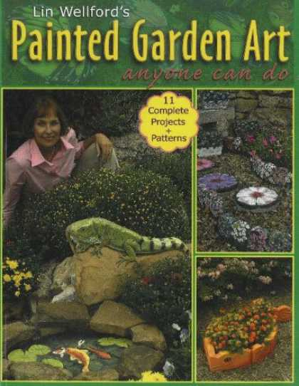 Books About Art - Painted Garden Art Anyone Can Do