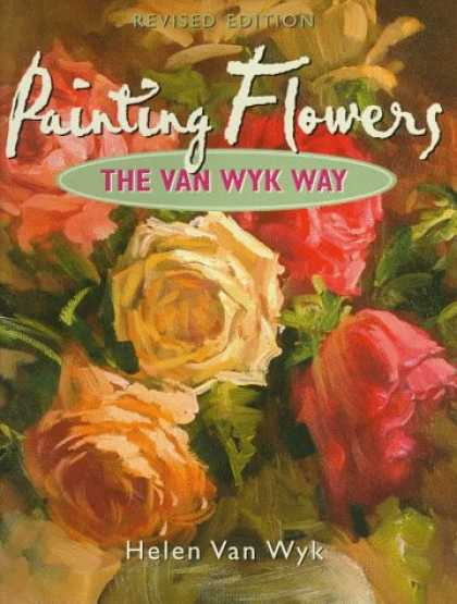 Books About Art - Painting Flowers the Van Wyk Way