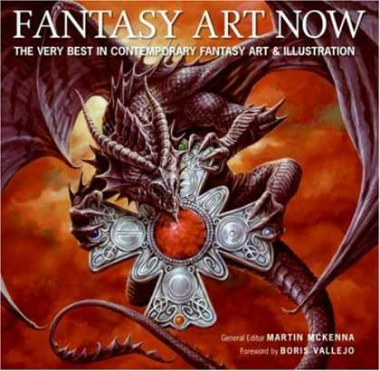 Books About Art - Fantasy Art Now: The Very Best in Contemporary Fantasy Art & Illustration