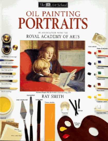 Books About Art - Oil Painting Portraits (Art School)