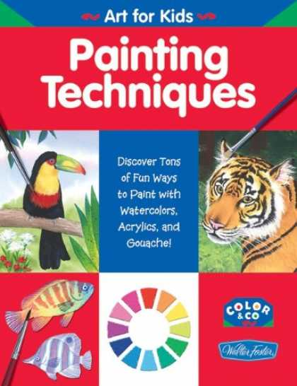 Books About Art - Painting Techniques (WF /Color & Co. Art for Kids)