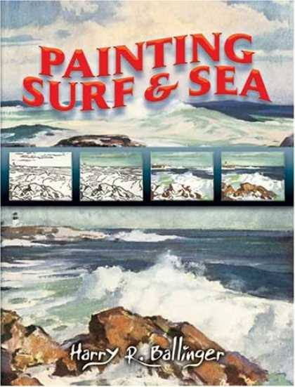 Books About Art - Painting Surf and Sea (Dover Books on Art Instruction)