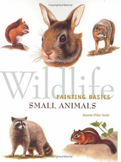 Books About Art - Wildlife Painting Basics - Small Animals