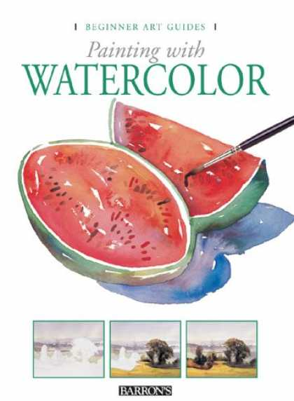 Books About Art - Painting with Watercolor (Beginner Art Guides)