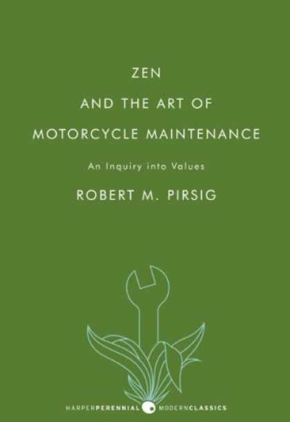 Books About Art - Zen and the Art of Motorcycle Maintenance: An Inquiry into Values (P.S.)