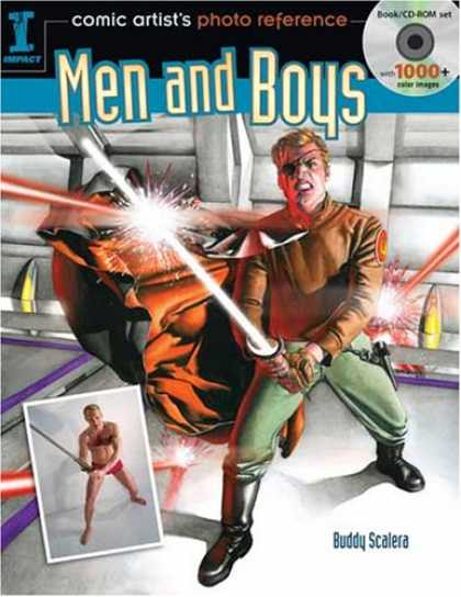 Books About Art - Comic Artist's Photo Reference: Men and Boys (Comic Artists Photo Reference)