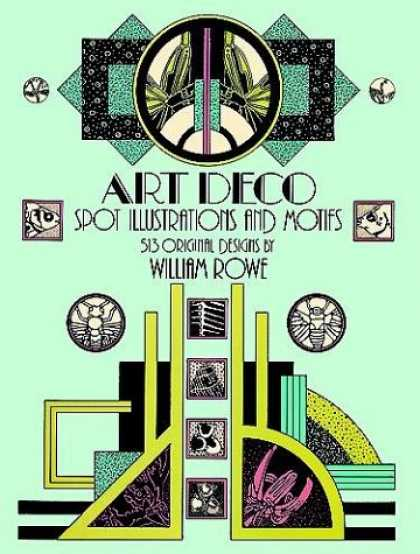 Books About Art - Art Deco Spot Illustrations and Motifs: 513 Original Designs (Dover Pictorial Ar