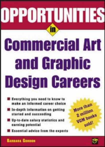 Books About Art - Opportunities in Commercial Art and Graphic Design Careers