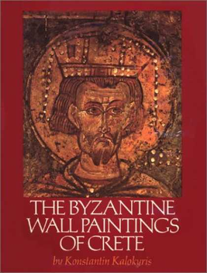 Books About Art - The Byzantine Wall Paintings of Crete (Art)