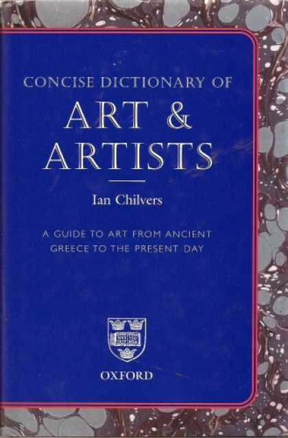 Books About Art - Concise Dictionary of Art & Artists
