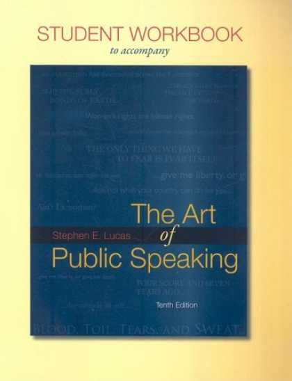 Books About Art - Student Workbook for use with The Art of Public Speaking
