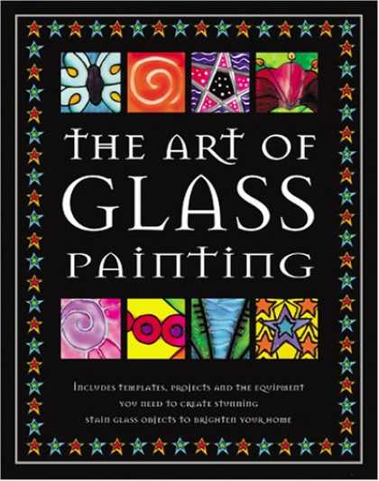 Books About Art - The Art of Glass Painting (Classic Craft Cases)