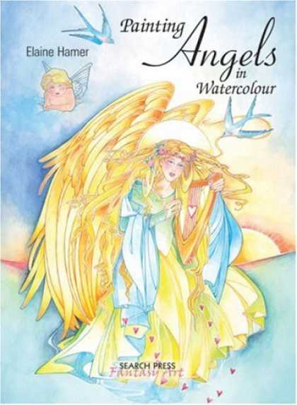 Books About Art - Painting Angels in Watercolour (Fantasy Art)