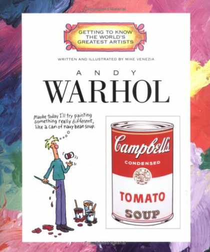 Books About Art - Andy Warhol (Getting to Know the World's Greatest Artists)
