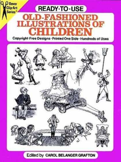 Books About Art - Ready-to-Use Old-Fashioned Illustrations of Children (Clip Art Series)
