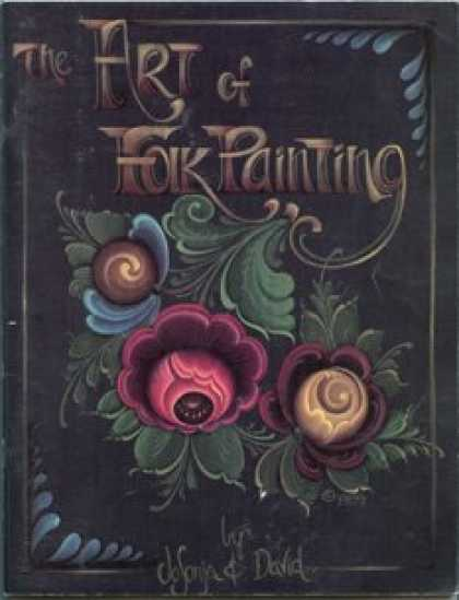Books About Art - THE ART OF FOLK PAINTING