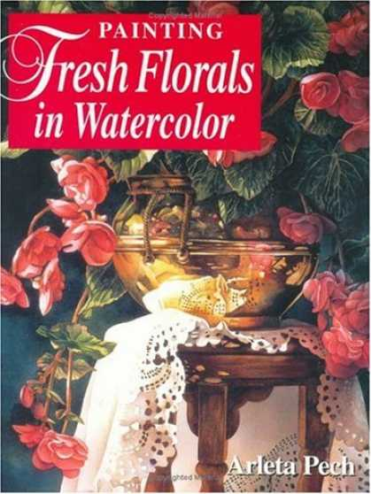 Books About Art - Painting Fresh Florals in Watercolor