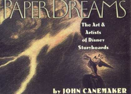 Books About Art - Paper Dreams: The Art And Artists Of Disney Storyboards