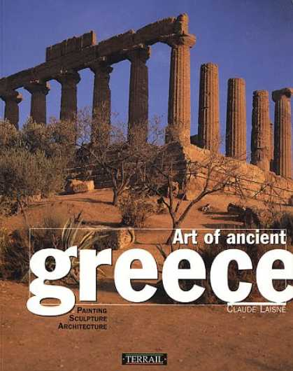 Books About Art - Art of Ancient Greece: Sculpture, Painting, Architecture