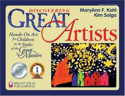 Books About Art - Discovering Great Artists: Hands-On Art for Children in the Styles of the Great