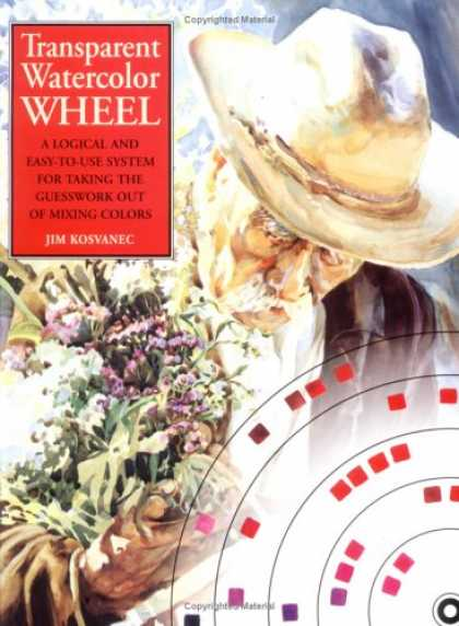Books About Art - Transparent Watercolor Wheel