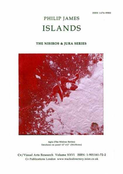 Books About Art - Islands: The Nisiros and Jura Series - Panel Paintings from Philip James Studio