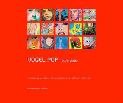 Books About Art - Vogel POP Olan 2008 Catalog of Original Paintings, Giclees & Prints by Artist Ol