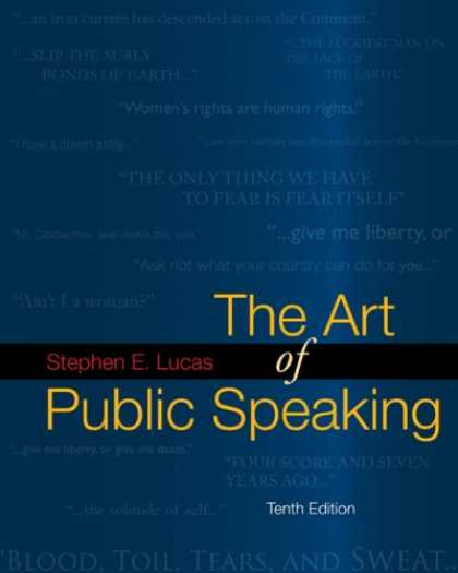 Books About Art - The Art of Public Speaking with Connect Lucas