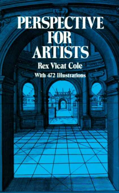 Books About Art - Perspective for Artists (Dover Art Instruction and Reference Books)
