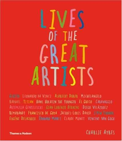 Books About Art - Lives of the Great Artists